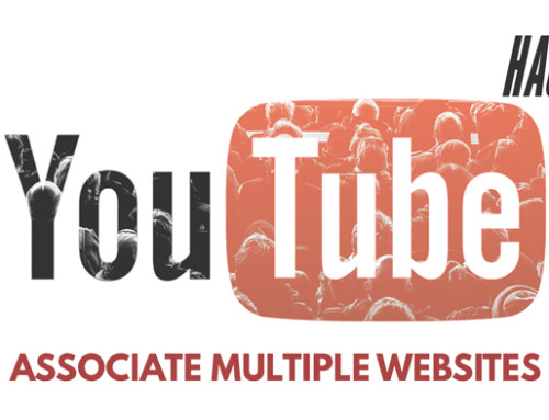 How to Associate Multiple Websites with Your YouTube Account