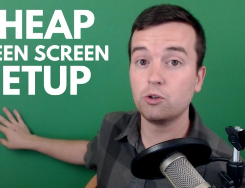 Cheap Collapsible Green Screen Setup That Looks Great
