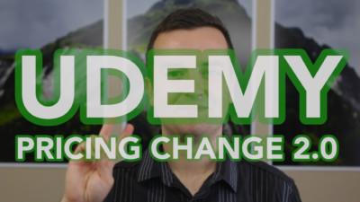 udemy pricing change 2.0