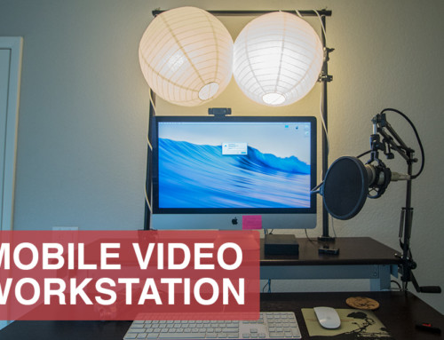 DIY Video Studio Desk for Online Instructors