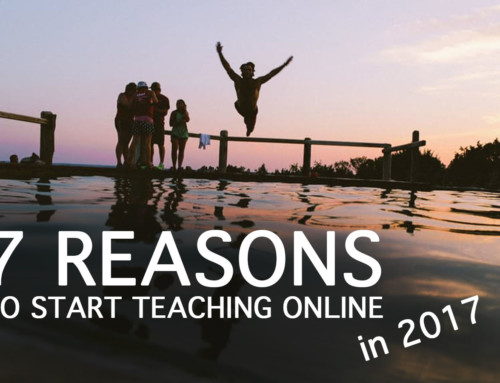 2017 is Still A Great Year to Start Teaching Online Courses