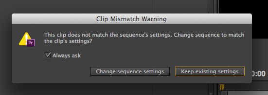 Choose the Right Sequence Settings in Adobe Premiere Pro
