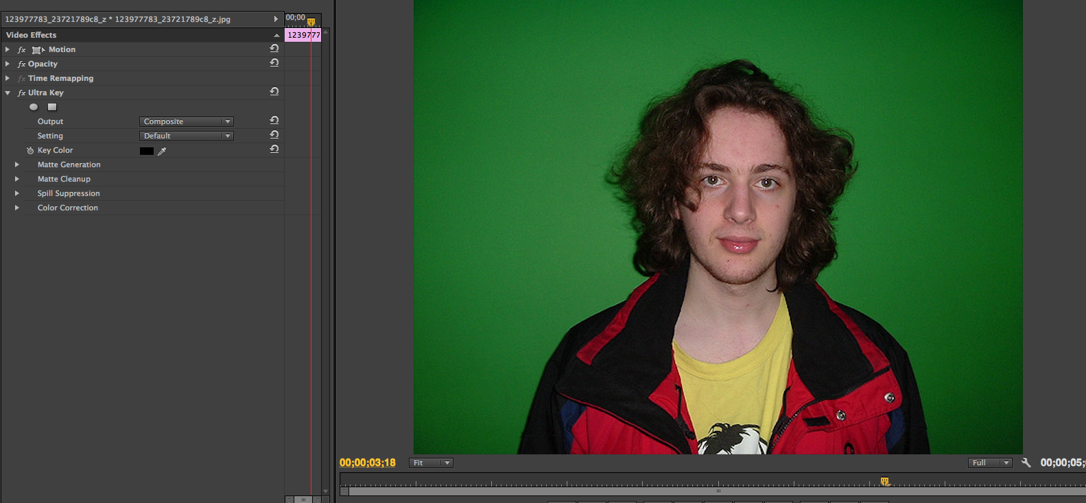 Green Screen: How to chroma key in Adobe Premiere Pro
