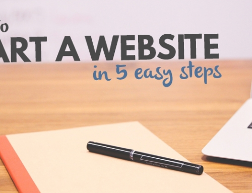 How to Create a Website in 5 Steps