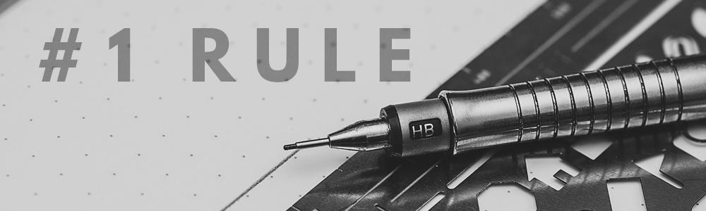 number 1 rule