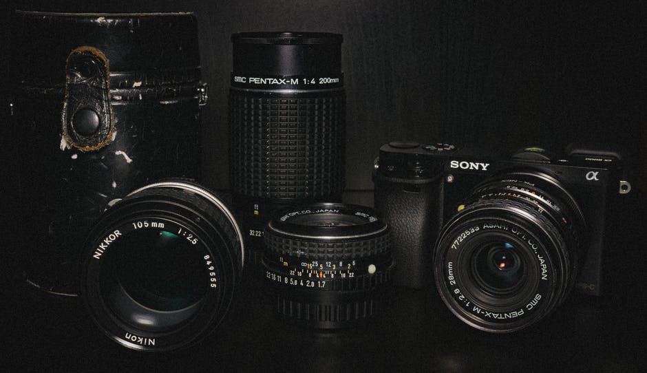 guide to choosing your first lenses
