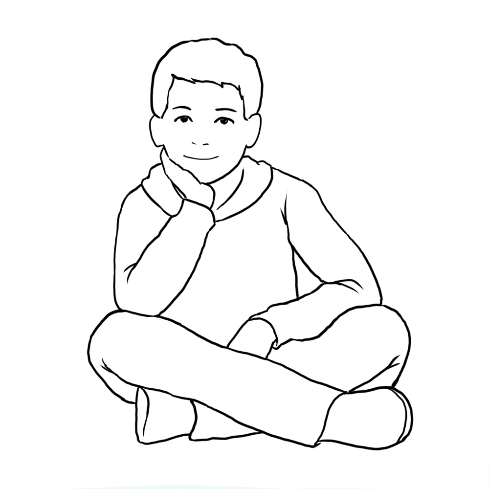 posing ideas for children