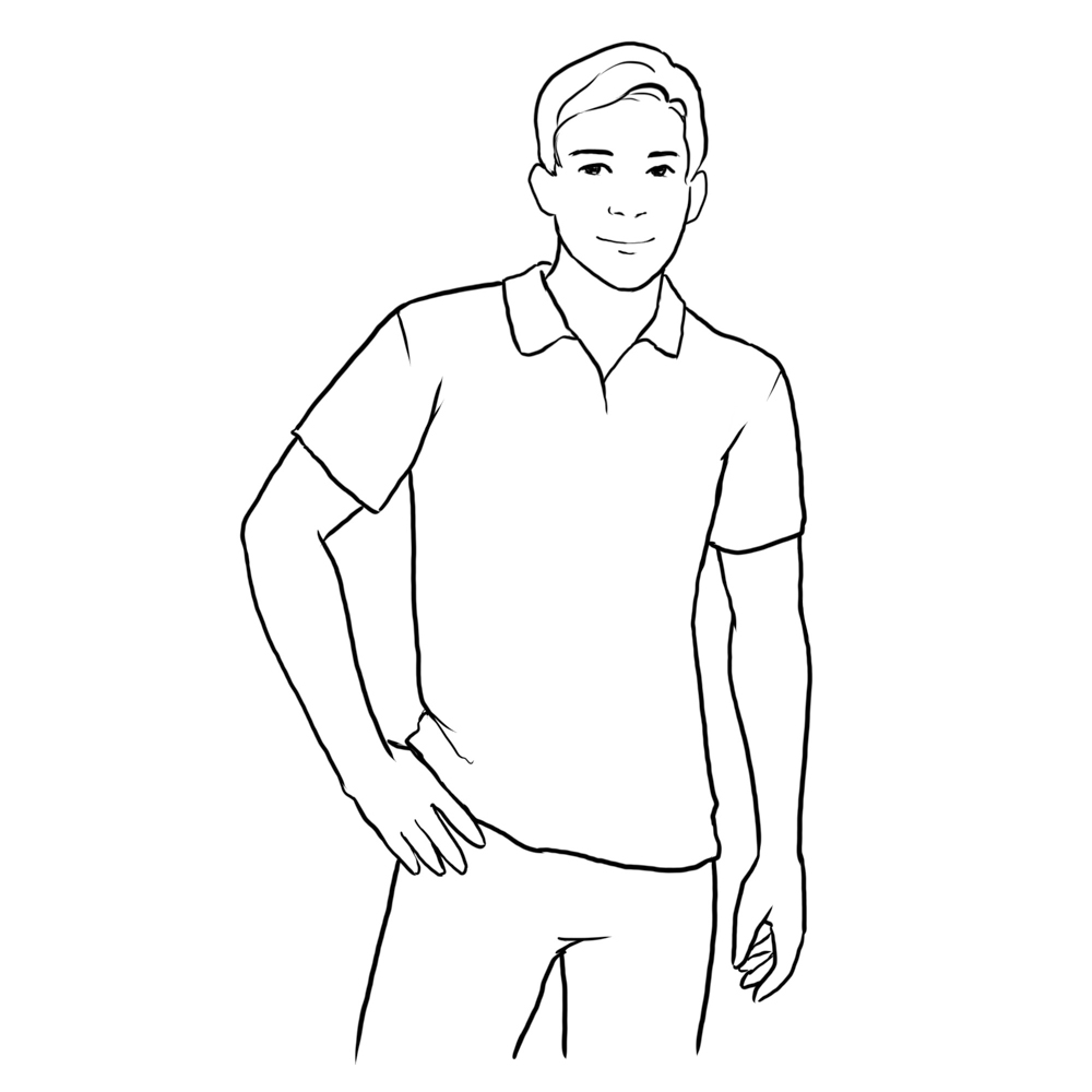 male posing ideas from video school online