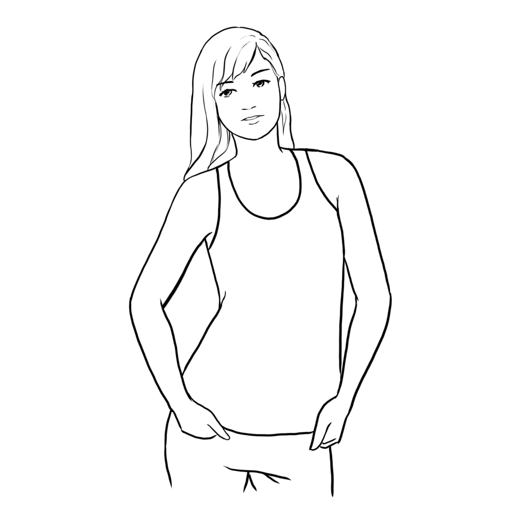 female posing ideas from video school online